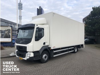 Samochód ciężarowy furgon Volvo FL 240 4x2 Rigid, closed box, full length tailgate LOW MILLEAGE