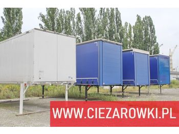 BDF bodies , tarpulin , container , clothes transport Low deck - samochód ciężarowy plandeka