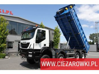 IVECO Trakker , 8x8 , E6 , Retarder , manual, 2018 , 5 units for sale - wywrotka