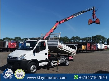 Iveco 65C18 DAILY fassi f38a22 - wywrotka