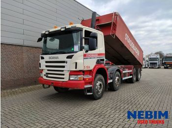 Scania P340 8x4 Tipper - STEEL SUSPENSION / BIG AXLES - wywrotka