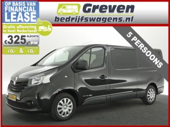 Renault Trafic 1.6 dCi T29 L2H1 DC Turbo2 Energy Airco Cruise Navigatie PDC Elektrpakket Trekhaak 5 Persoons Lat-om-Lat - samochód dostawczy furgon