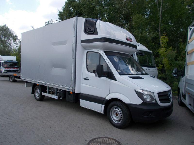 W superbly Nowy samochód dostawczy plandeka Mercedes-Benz Sprinter 316 CDI IA45