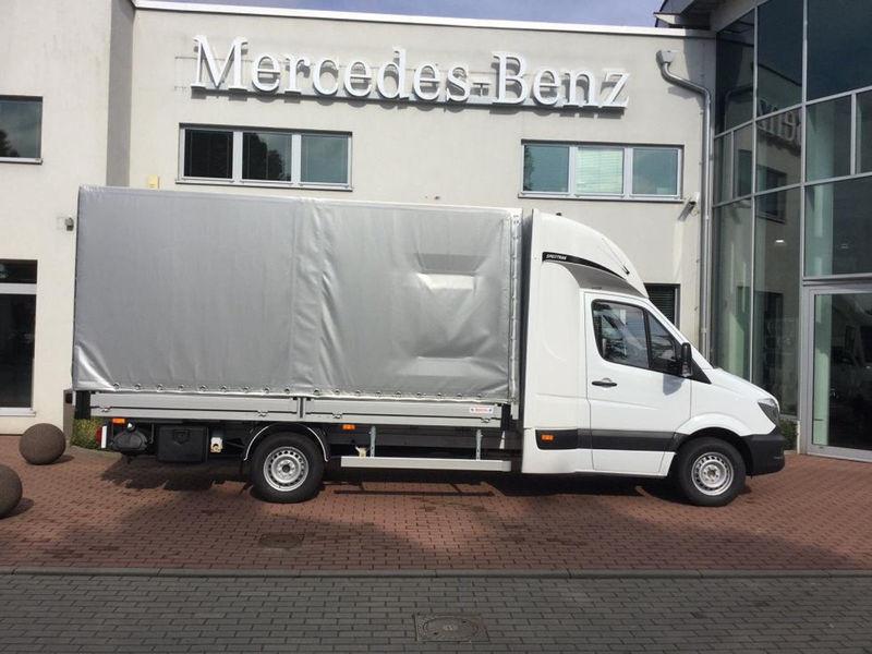 Zaktualizowano Samochód dostawczy plandeka Mercedes-Benz Sprinter 316 CDI 8PAL ZU66