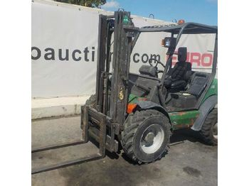 2007 Agria TH-15.16HST 4WD Rough Terrain Forklift c/w 3 Stage Mast, Forks, Sideshift (Copy of Spanish Reg. Docs. & Decl. of Conf. Available ? Original Docs Process on Buyer Resp. / Copia de Doc. E - wózek terenowy