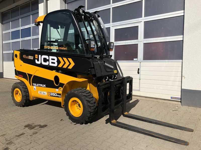 W superbly Wózek widłowy JCB TLT 35D 4x4 AGRI / Schaufel & Gabel z Niemiec CL21