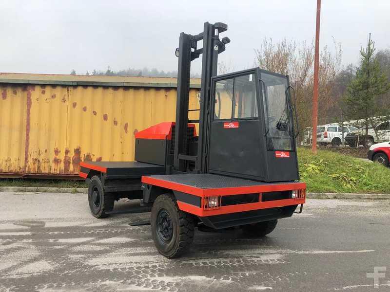 Inne rodzaje Wózek widłowy boczny Linde S40 z Słowenii używany na sprzedaż ZI31